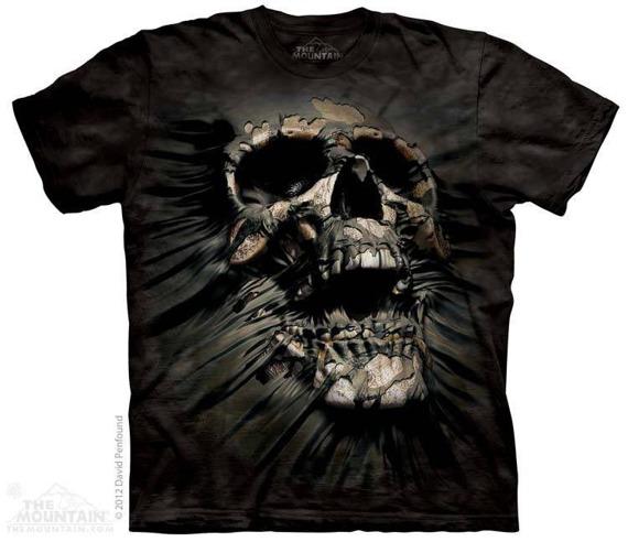 koszulka THE MOUNTAIN - BREAKTHROUGH, barwiona
