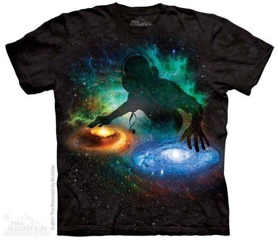 koszulka THE MOUNTAIN - GALAXY DJ, barwiona
