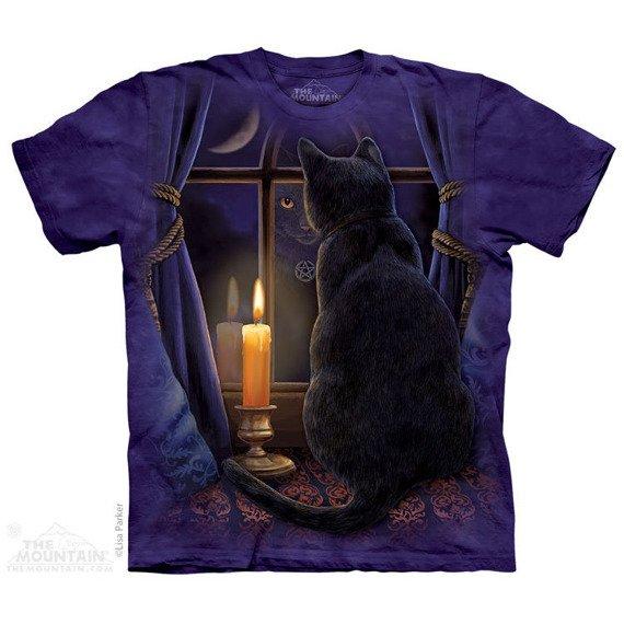 koszulka THE MOUNTAIN - MIDNIGHT VIGIL PET, barwiona