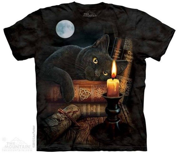 koszulka THE MOUNTAIN - THE WITCHING HOUR, barwiona