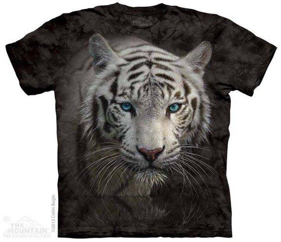 koszulka THE MOUNTAIN - WHITE TIGER REFLECTION, barwiona