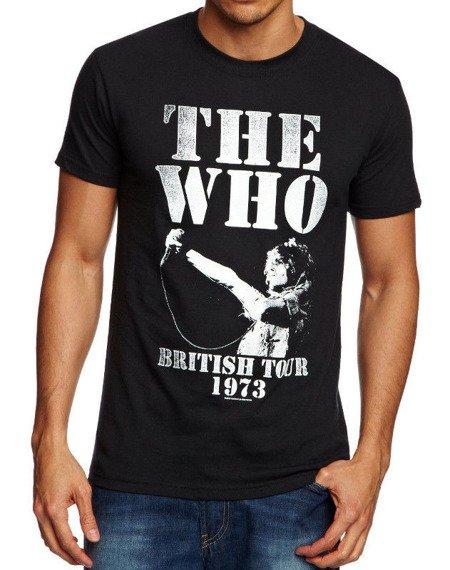 koszulka THE WHO - BRITISH TOUR 1973