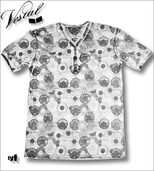 koszulka VESTAL - 45 LIVE (WHITE)  KVEST-004