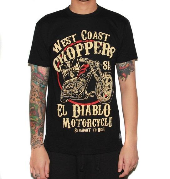 koszulka WEST COAST CHOPPERS - EL DIABLO