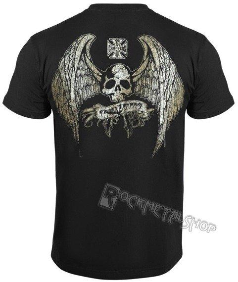 koszulka WEST COAST CHOPPERS - POR VIDA czarna