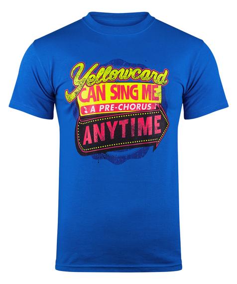 koszulka YELLOWCARD - ANYTIME