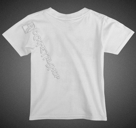 koszulka dziecięca AC/DC - WE SALUTE YOU white