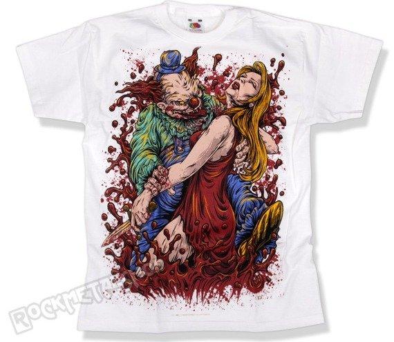 koszulka dziecięca BLACK ICON - LUNGE biała (JICON074WHITE)