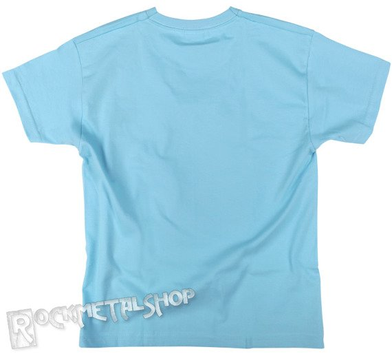 koszulka dziecięca BLACK ICON - PINOCHIO jasnoniebieska (JICON114 LIGHT BLUE)