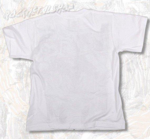 koszulka dziecięca BLACK ICON - THE EYE OF DEATH white (JICON028WHT)