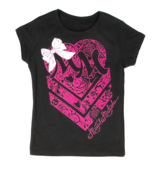 koszulka dziecięca METAL MULISHA - PINKY SWEAR dla dziewczynki