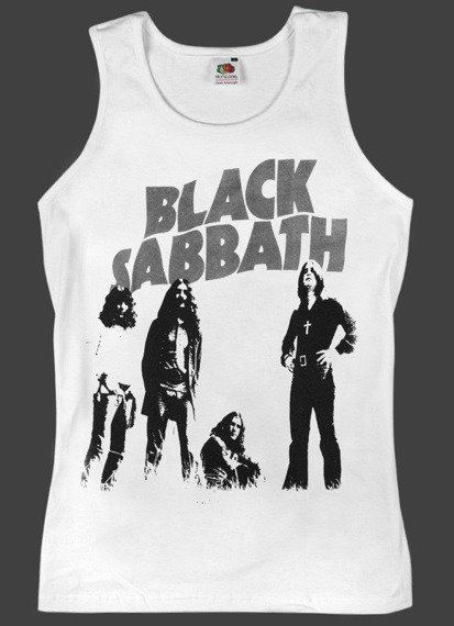 koszulka na ramiączka BLACK SABBATH