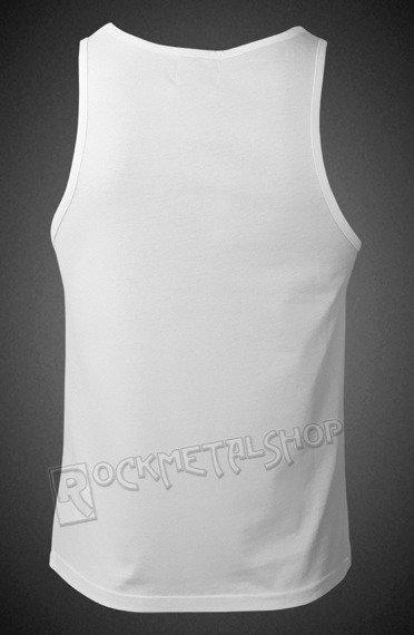 koszulka na ramiączkach GUNS N' ROSES - DRUM white