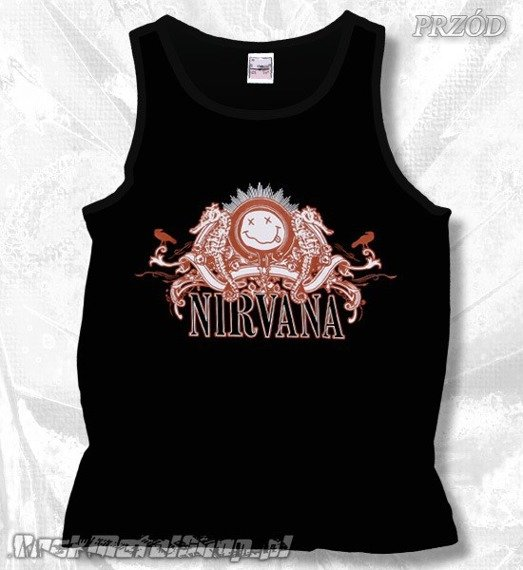 koszulka na ramiączkach NIRVANA - LOGO