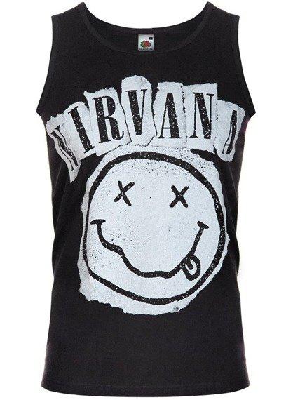 koszulka na ramiączkach NIRVANA - SMILEY