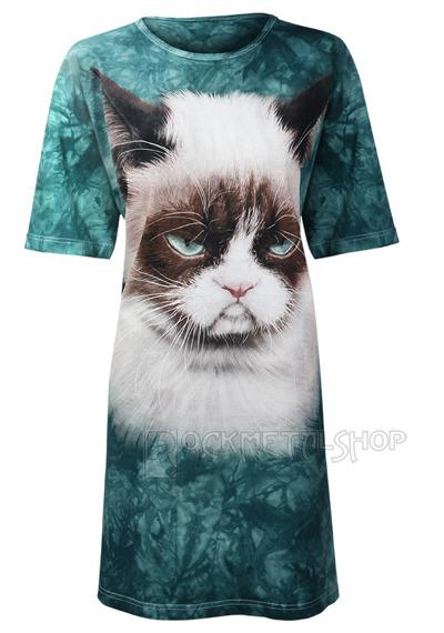 koszulka nocna THE MOUNTAIN - GRUMPY CAT
