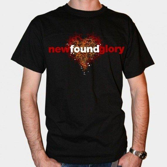 koszulkaI NEW FOUND GLORY - HEART (BLACK)