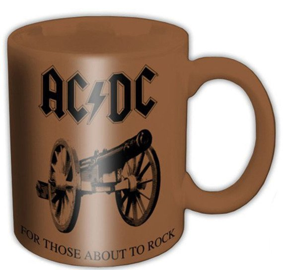 kubek AC/DC - FOR THOSE ABOUT ROCK