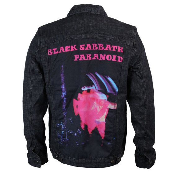 kurtka BLACK SABBATH - PARANOID DENIM JACKET