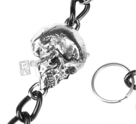 łańcuch do kluczy/portfela SKULL
