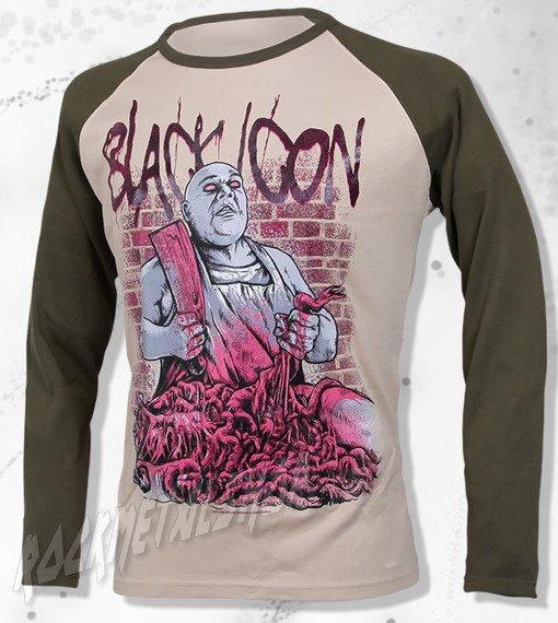 longsleeve BLACK ICON - EXECUTION khaki / beżowy (LICON055)