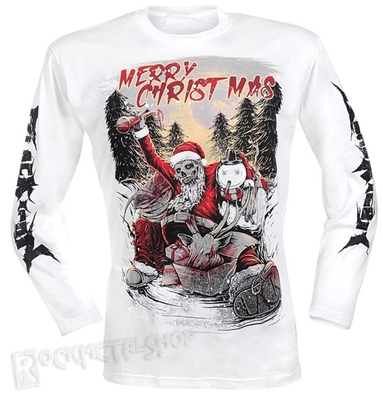 longsleeve BLACK ICON - MERRY CHRISTMAS (LICON042)