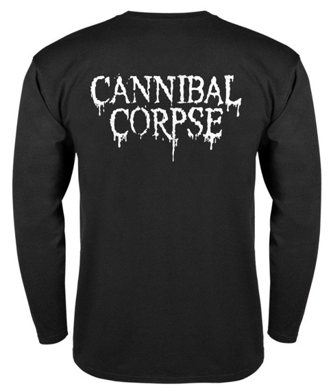 longsleeve CANNIBAL CORPSE - RED LOGO