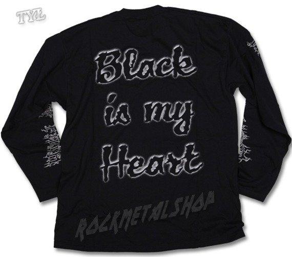 longsleeve  CRADLE OF FILTH - BLACK  MY HEART (95032300C)