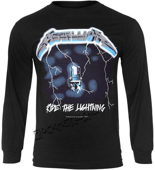longsleeve METALLICA - RIDE THE LIGHTNING