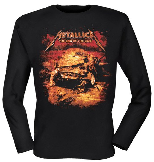 longsleeve METALLICA - THE END OF THE LINE