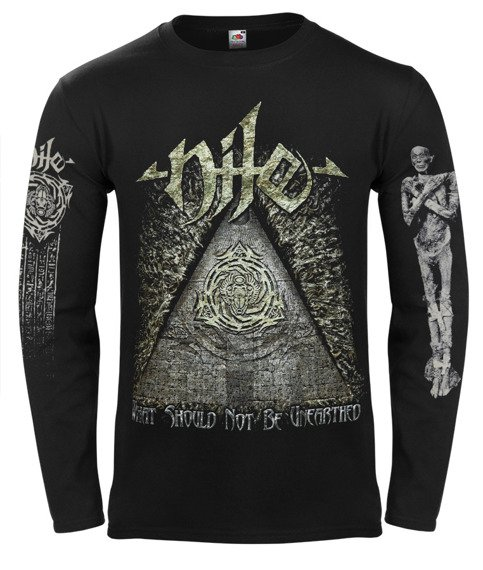 longsleeve NILE - WHAT SHOULD NOT BE UNEARTHED