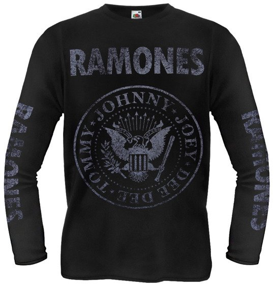 longsleeve RAMONES - TOMMY, JOHNNY, JOEY, DEEDEE
