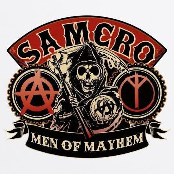longsleeve SONS OF ANARCHY - SAMCRO