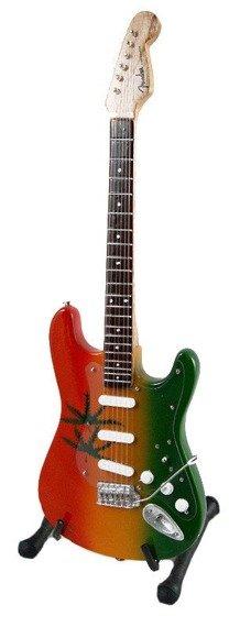miniaturka gitary BOB MARLEY - MARIJUANA STRAT STYLE