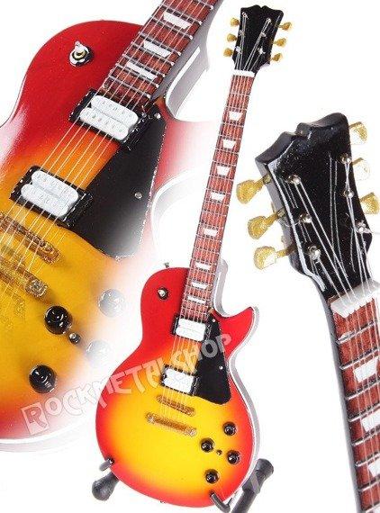 miniaturka gitary FRANK ZAPPA - LP CHERRY