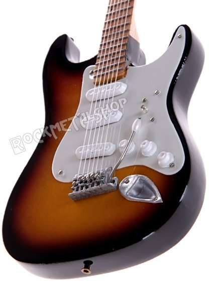 miniaturka gitary JIMI HENDRIX: SUNBURST STRAT