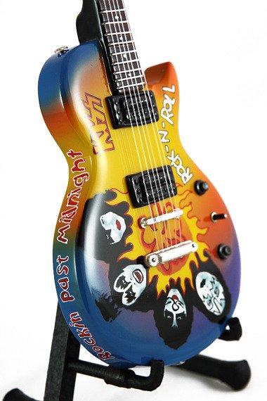 miniaturka gitary KISS -  LES PAUL ROCK 'N' ROLL