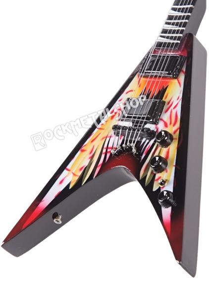 miniaturka gitary MEGADETH - DAVE MUSTAINE: RAZORBACK V ANGEL OF DEAD