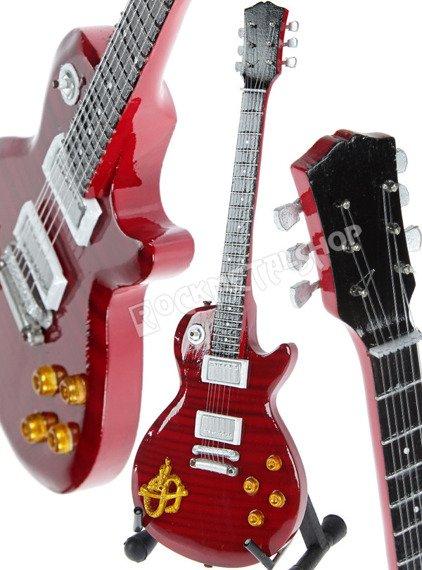 miniaturka gitary SLAS'H SNAKEPIT: LES PAUL CUSTOM RED
