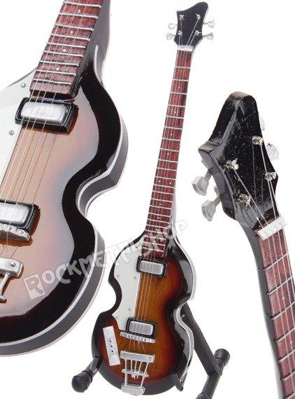 miniaturka gitary THE BEATLES - PAUL MCCARTNEY: HOFNER '63 VIOLIN BASS