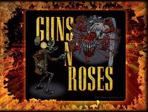 naklejka GUNS N ROSES - ATTACK