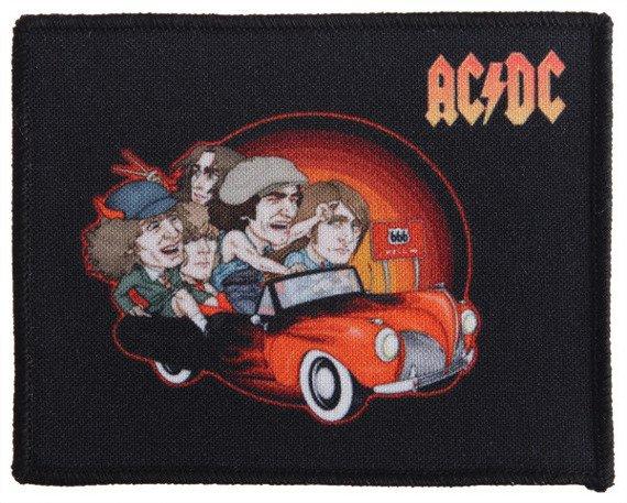 naszywka AC/DC - ROUTE 666