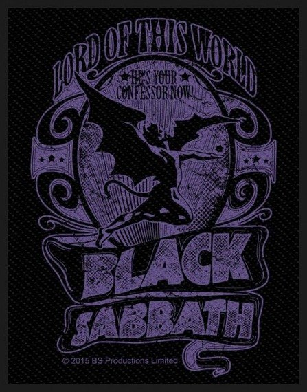 naszywka BLACK SABBATH - LORD OF THIS WORLD