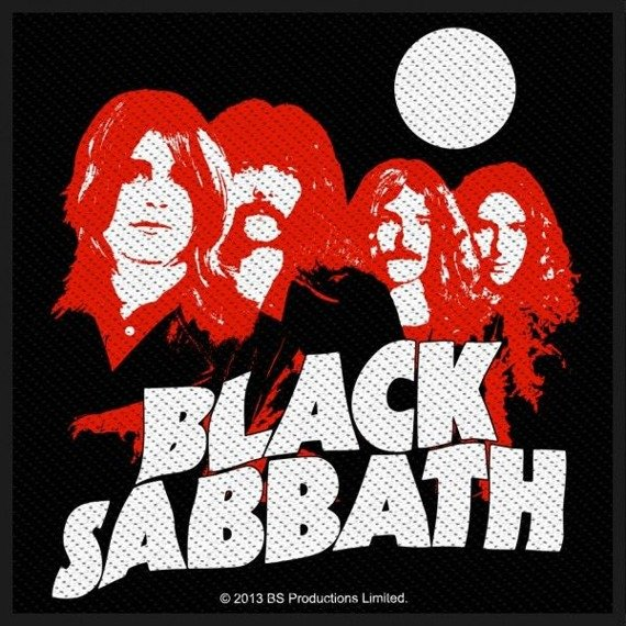 naszywka BLACK SABBATH - RED PORTRAITS