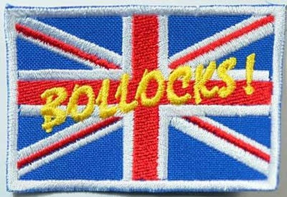 naszywka BOLLOCKS