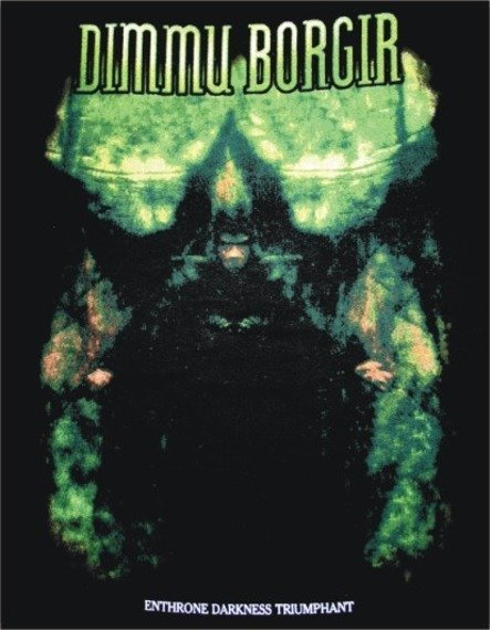 naszywka DIMMU BORGIR - ENTHRONE DARKNESS TRIUMPHANT