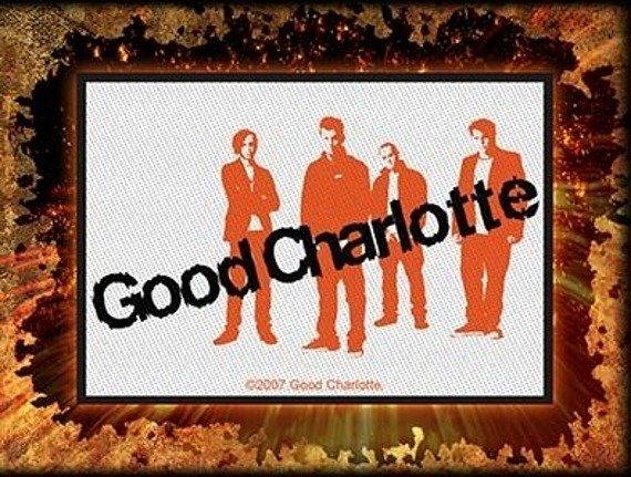naszywka GOOD CHARLOTTE - BAND