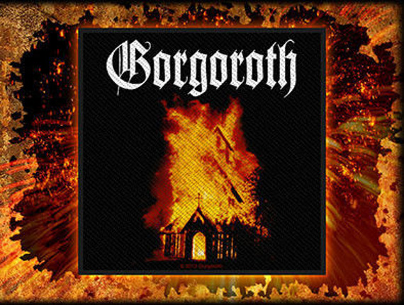 naszywka GORGOROTH - CHURCH