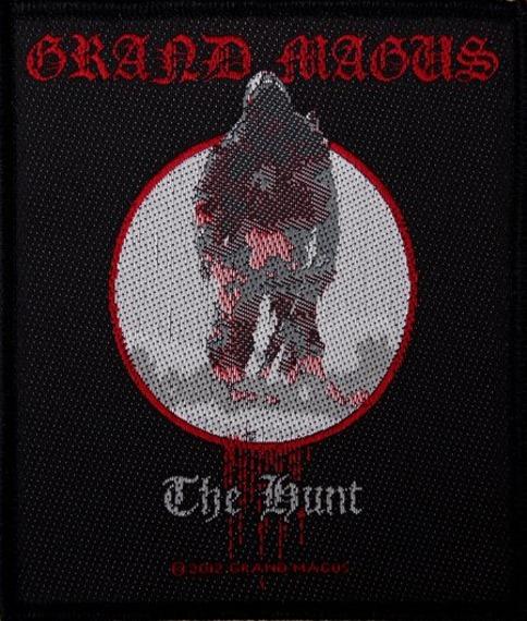 naszywka GRAND MAGUS - THE HUNT