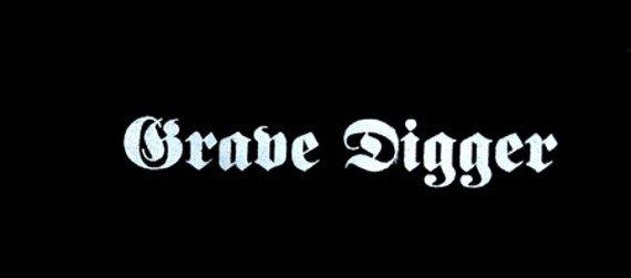 naszywka GRAVE DIGGER - LOGO